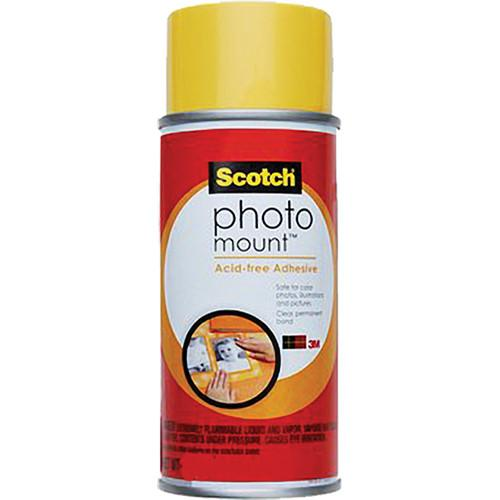 Scotch Photo Mount Acid-free Adhesive (10 oz) 70-0051-8194-9