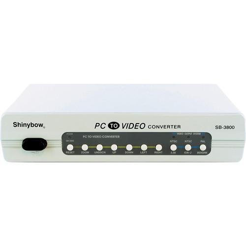 Shinybow SB-3800 PC-VGA to NTSC/PAL Video Converter SB-3800