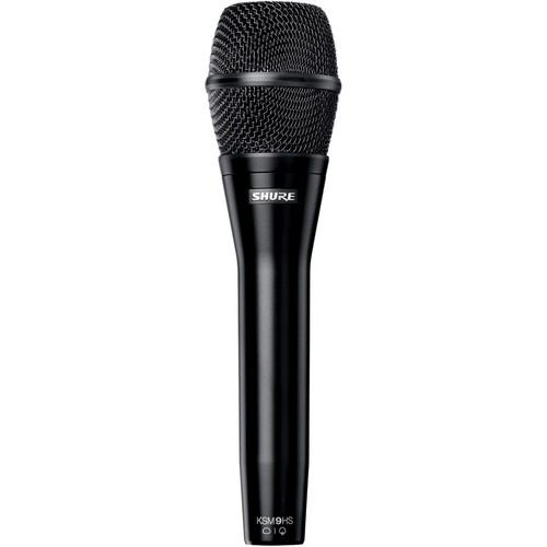 Shure KSM9HS Multi-Pattern Dual Diaphragm Handheld Vocal KSM9HS