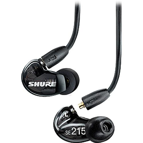 Shure SE215 Sound-Isolating In-Ear Earphones and In-Line