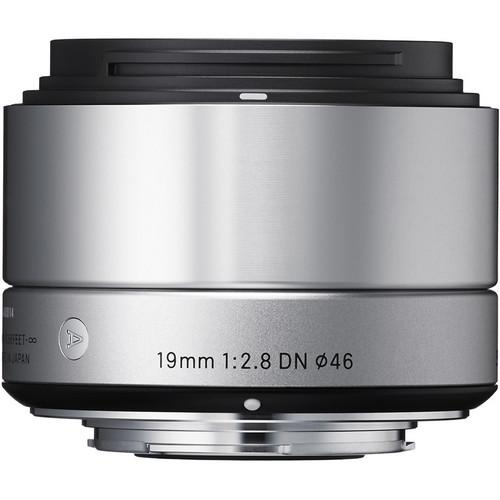 Sigma 19mm f/2.8 DN Lens for Micro Four Thirds Cameras 40S963