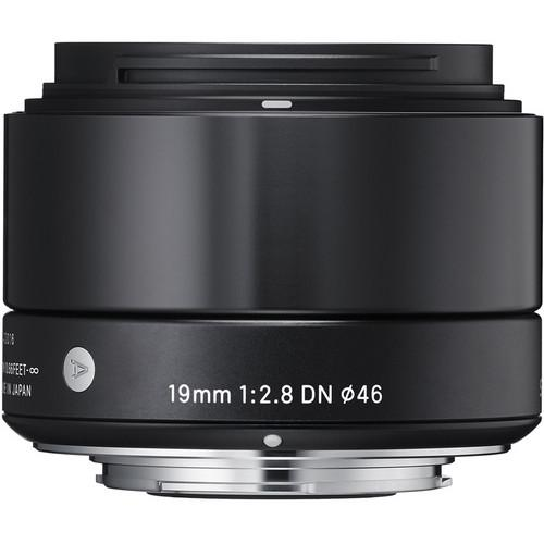 Sigma 19mm f/2.8 DN Lens for Sony E-mount Cameras (Black) 40B965