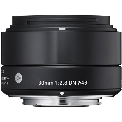 Sigma 30mm f/2.8 DN Lens for Sony E-mount Cameras (Black) 33B965
