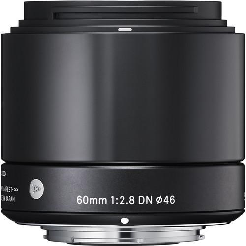 Sigma 60mm f/2.8 DN Lens for Sony E-mount Cameras (Black) 350965