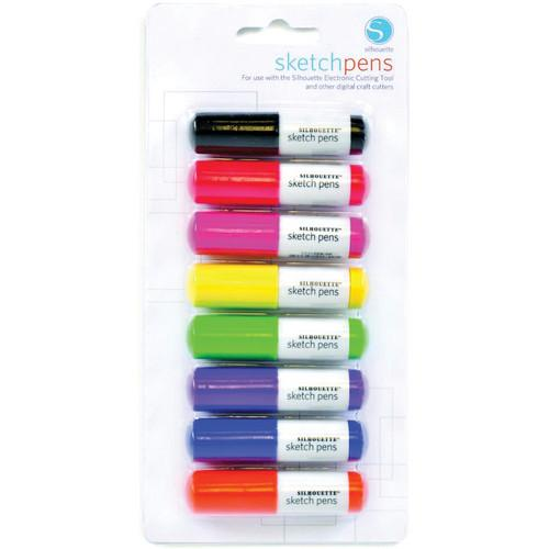 silhouette Sketch Pen Starter Pack (8 Pens) SILH-PEN-START