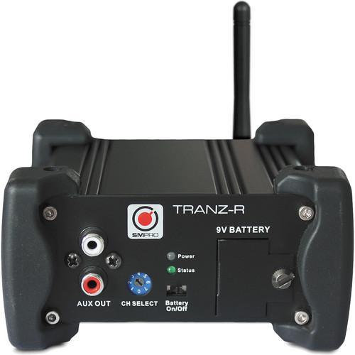 SM Pro Audio TRANZ-R Wireless Stereo DI Receiver TRANZ-R