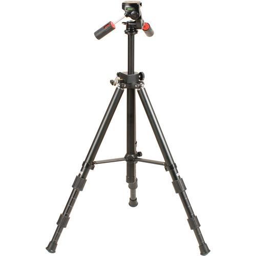 Smith-Victor Pro-4500 Tripod with Pro-4A 3-Way Pan Head 700110