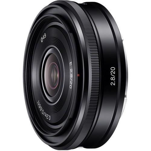 Sony  20mm f/2.8 Alpha E-mount Lens SEL20F28