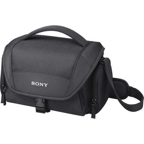 Sony  LCS-U21 Soft Carrying Case (Black) LCSU21