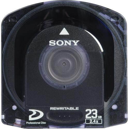 Sony Single Layer Pre-Formatted Rewritable Optical Disc PFD23A/3