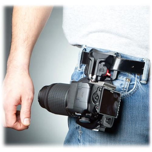 Spider Camera Holster  Black Widow Holster 800