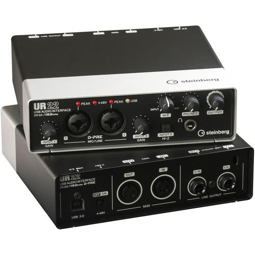 Steinberg UR22 - USB 2.0 Audio Interface with Dual UR22