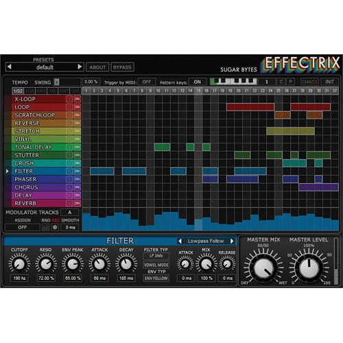 Sugar Bytes  Effectrix 11-33034