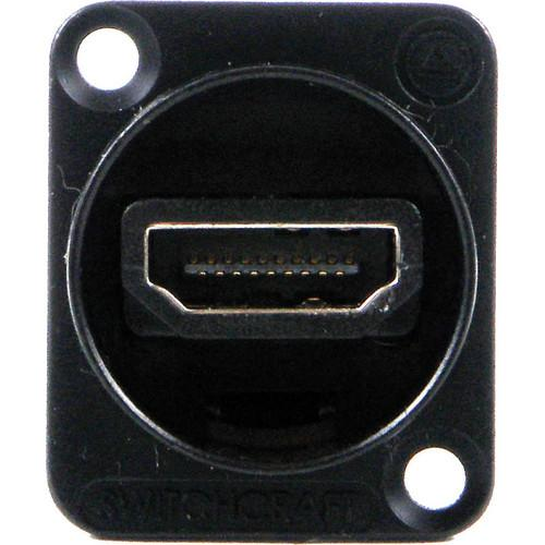 Switchcraft EH Series HDMI Connector (Black) EHHDMI2B
