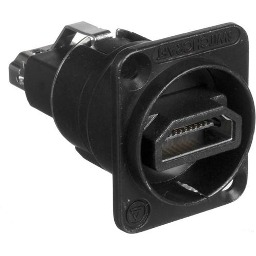 Switchcraft EH Series HDMI Feedthrough Connector EHHDMI2BPKG