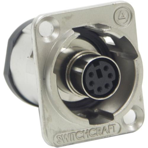 Switchcraft EH Series PS/2 Mouse Jack Connector EH6MD2X