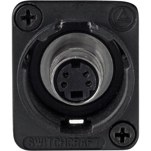 Switchcraft EH Series S-Video Jack Female to Female EHSVHS2BX