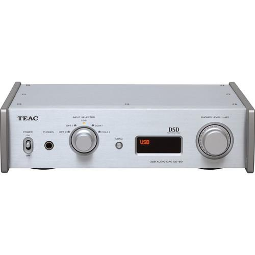 Teac UD-501-S Dual-Monaural D/A Converter with USB UD-501-S