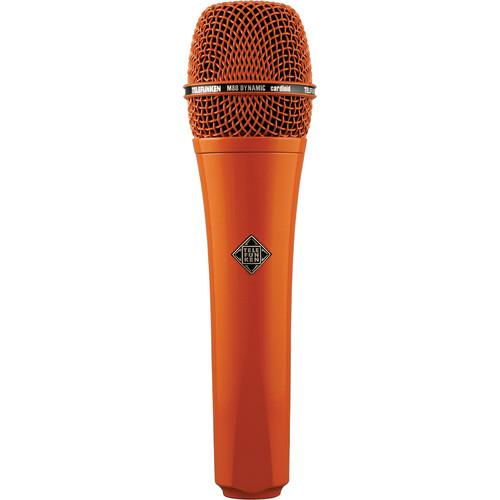 Telefunken M80 Custom Dynamic Handheld Microphone M80 ORANGE