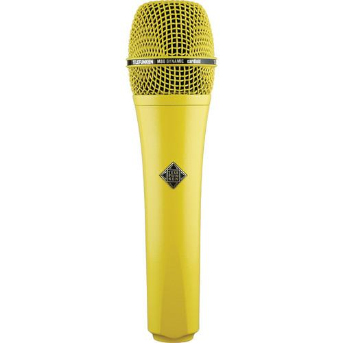 Telefunken M80 Custom Dynamic Handheld Microphone M80 YELLOW