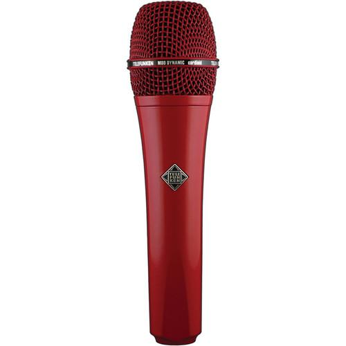 Telefunken M80 Custom Dynamic Handheld Microphone (Red) M80 RED