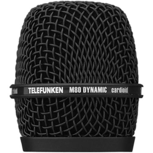 Telefunken Replacement Grill M80 REPLACEMENT GRILL BLK