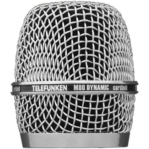 Telefunken Replacement Grill M80 REPLACEMENT GRILL CHR