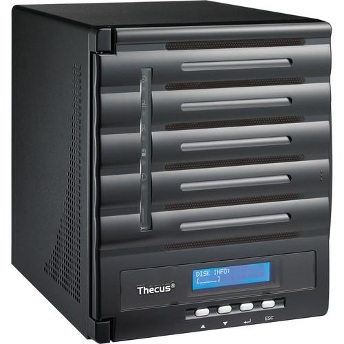 Thecus 10TB (5x 2TB) N5550 5-Bay Enterprise NAS Kit with WD Red