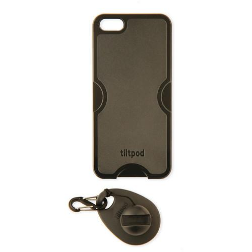 tiltpod Magnetic Keychain Stand for the iPhone 5 (Black) TC501BK