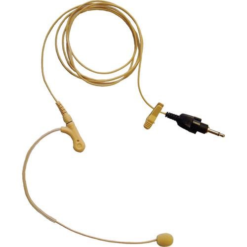 Toa Electronics Q-EM-7 Over the Ear Microphone (Beige) Q-EM-77