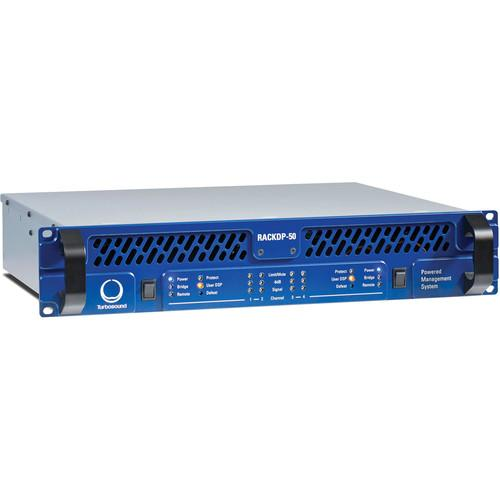 Turbosound RACKDP-50 4-Channel Amplifier with DSP RACKDP-50