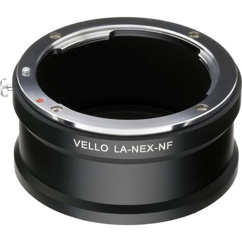 Vello Nikon F Mount Lens to Sony E-Mount Camera Adapter