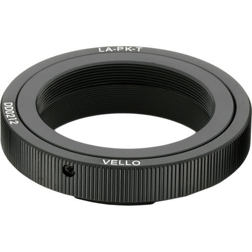 Vello T Mount Lens to Pentax K Camera Adapter LA-PK-T