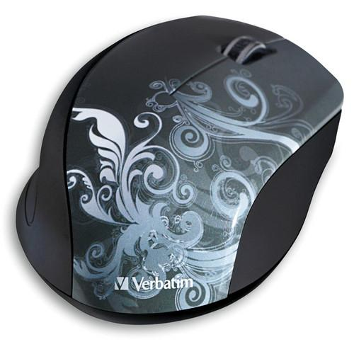 Verbatim Wireless Optical Design Mouse (Graphite Design) 97786