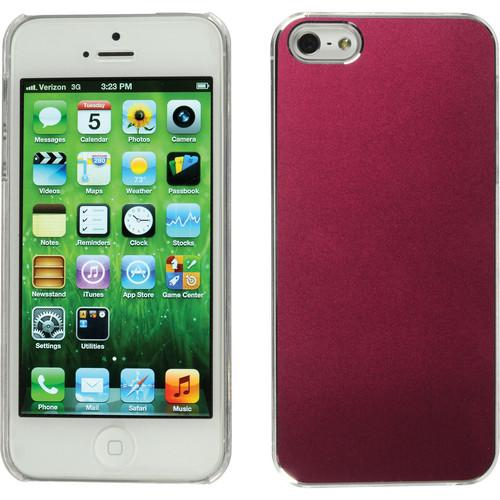 Xuma Aluminum Snap-on Case for iPhone 5 & 5s (Pink) CM2-13P