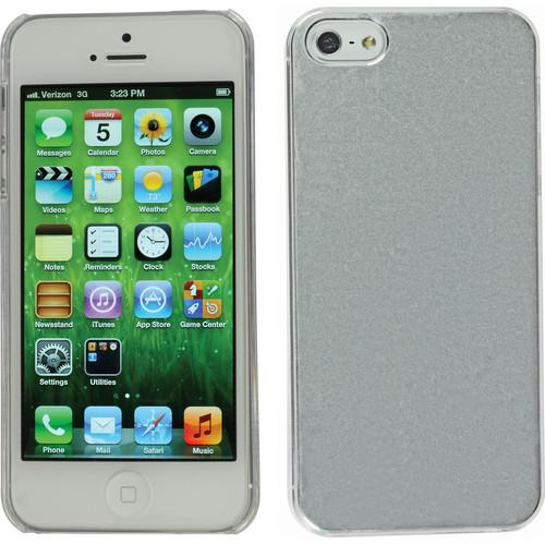 Xuma Aluminum Snap-on Case for iPhone 5 & 5s (Silver)