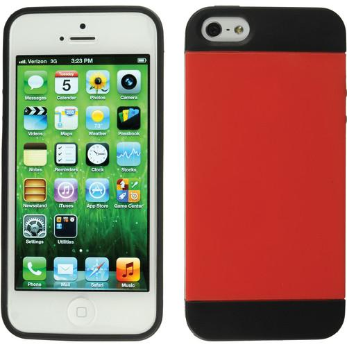 Xuma Hybrid Case for iPhone 5 & 5s (Red) CM2-12R