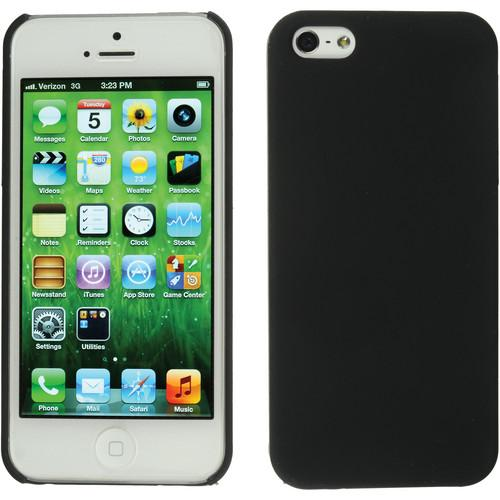 Xuma Snap-on Case for iPhone 5 & 5s (Black) CP2-12B