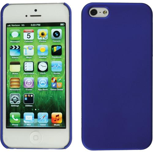 Xuma Snap-on Case for iPhone 5 & 5s (Blue) CP2-12BL