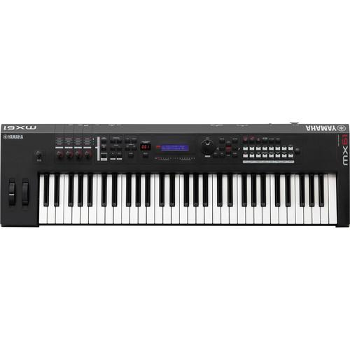 Yamaha MX61 61-Key Music Production Synthesizer MX61