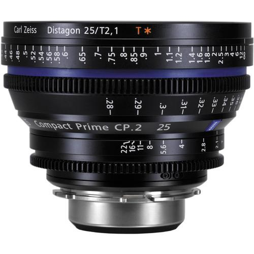 Zeiss CP.2 25mm T2.1 Compact Prime Lens (EF Mount) 1875-602