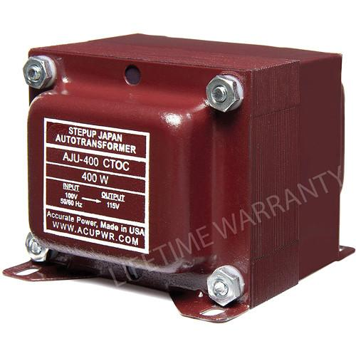 ACUPWR AJU-400 CTOC US to Japan Step Up Transformer AJU-400 CTOC