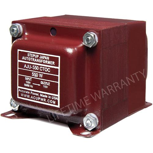 ACUPWR AJU-550 CTOC US to Japan Step Up Transformer AJU-550 CTOC