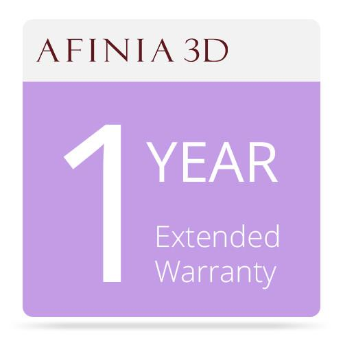 Afinia 1-Year Extended Warranty for H480 3D AFINIA 3D EXT WRNTY
