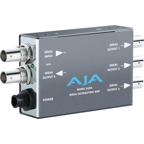 AJA D5DA SD-SDI Distribution Amplifier, Multi-format D5DA