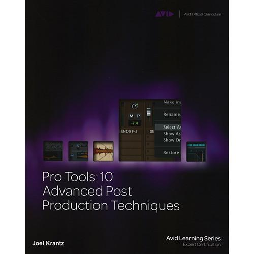 ALFRED Book: Pro Tools 10 Advanced Post Production 54-1133788866
