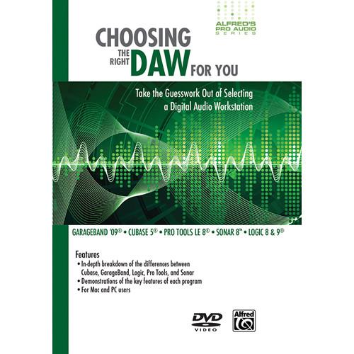 ALFRED DVD: Choosing the Right DAW for You 00-35268