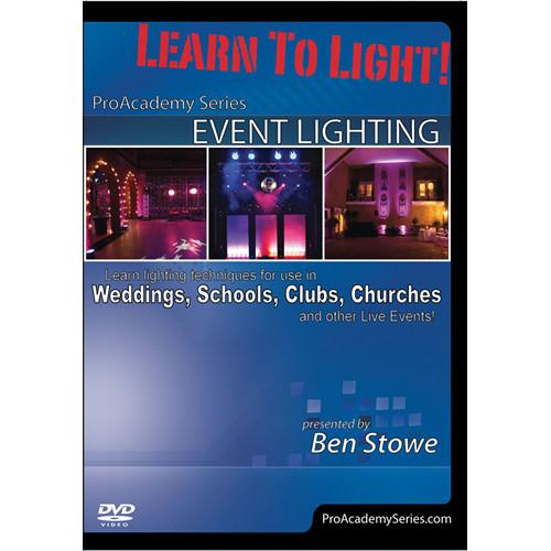 ALFRED DVD: Learn to Light! Pro Academy Series: Event 98-38937