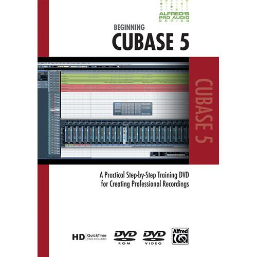 ALFRED DVD: Pro Audio Series: Beginning Cubase 5 00-33631