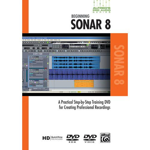 ALFRED DVD: Pro Audio Series: Beginning Sonar 8 00-33633